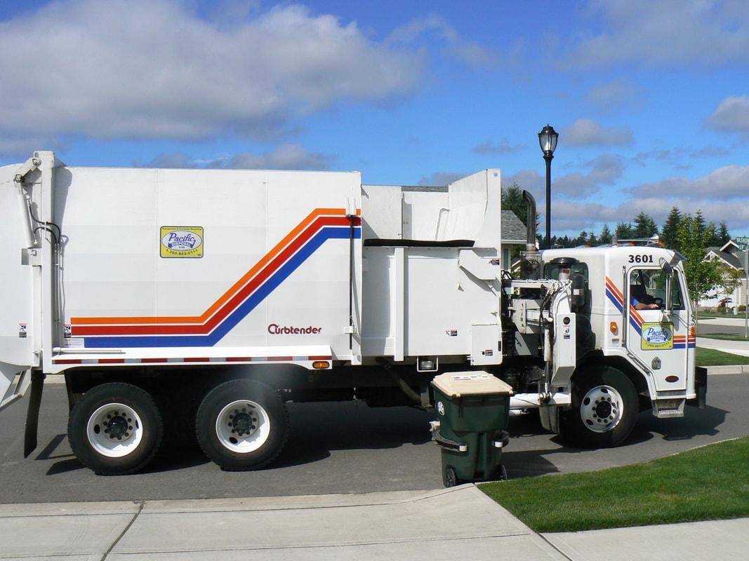 Curbtender Pacific Garbage Pickup Truck