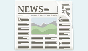 Vector Image of Newspaper