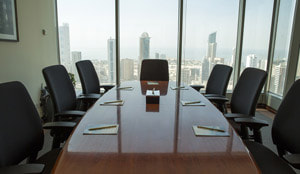 Meeting Room With Multiple Chairs
